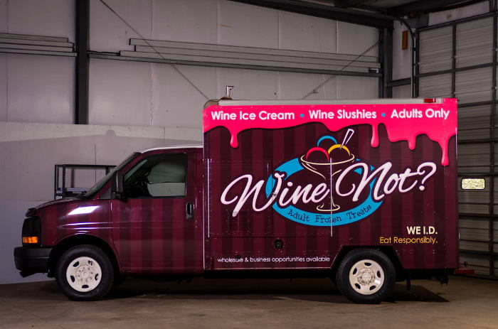 buffalo gets a wine truck sorta wine not truck. Black Bedroom Furniture Sets. Home Design Ideas