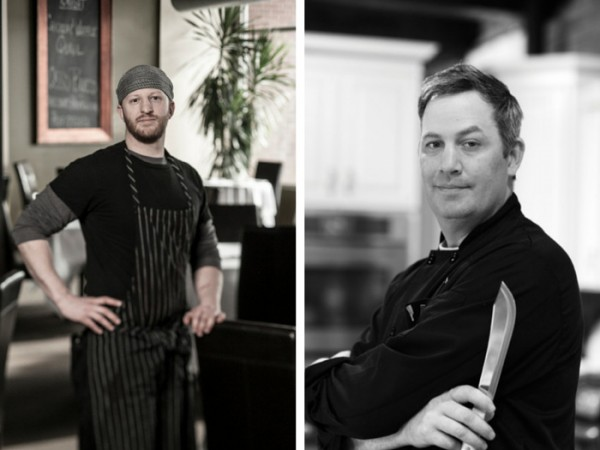 Chef Dustin Murphy and Chef Brian Mietus / Photos courtesy of Nickel City Chef