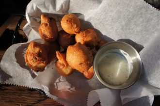 Hush Puppies at Toutant in Buffalo Ny