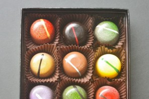 Blue Table Chocolates