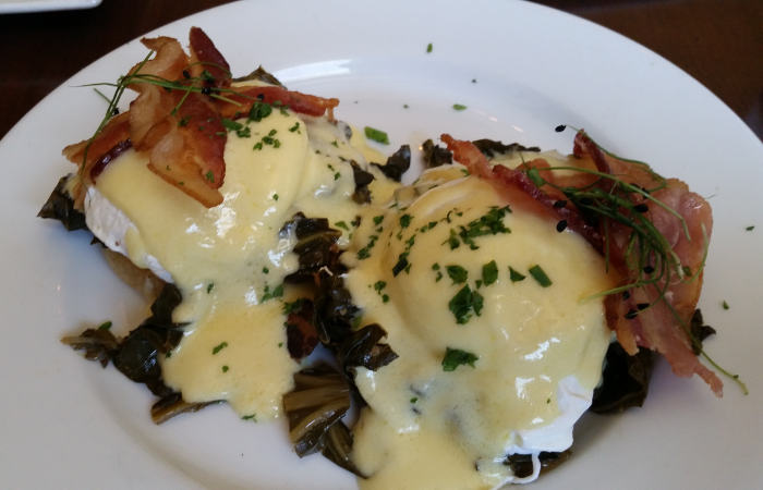 Southern Style Eggs Benedict