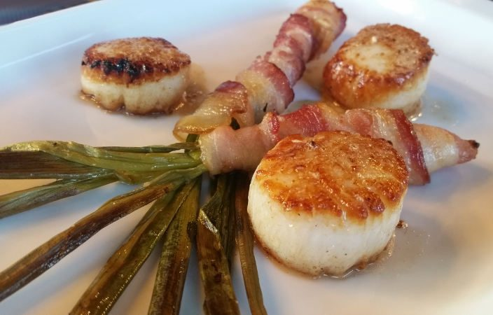 Midtwon Kitchen-Buffalo-scallops