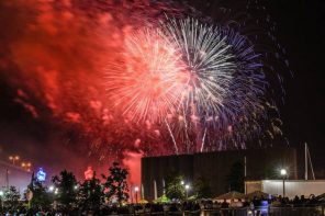 Canalside Fireworks, Fourth of July, Fireworks in Buffalo NY