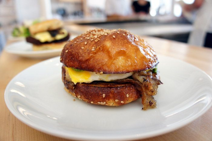 Porchetta Breakfast Sandwich