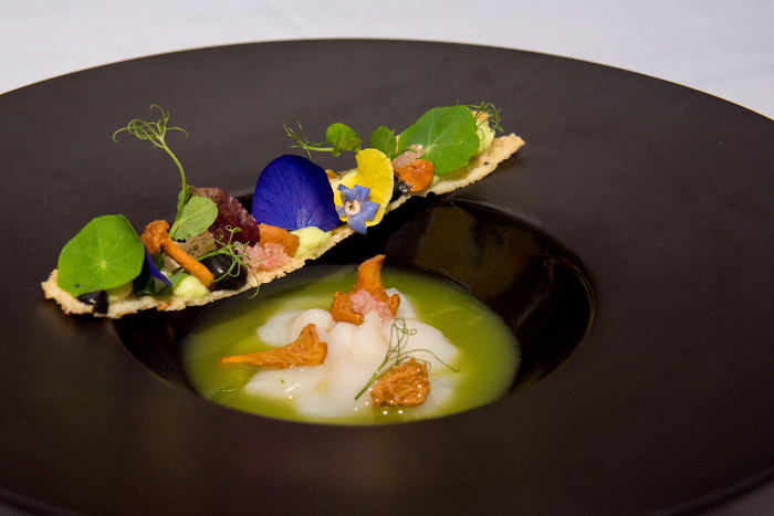 Scallop Crudo, Olivers