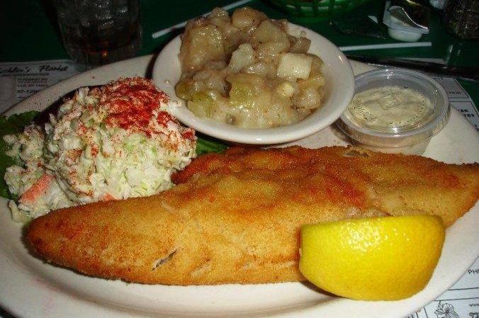 This corner bar 39 s fish fry gets better every single year for Fried buffalo fish