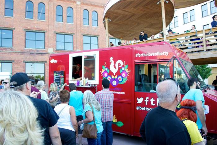 Food Truck Tuesday in Larkin Square, Buffalo NY