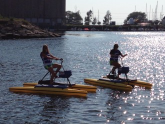 Water Bikes of Buffalo @ Canalside