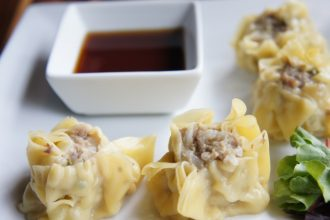 Pork Dumplings at Kaydara Noodle Bar / Step Out Buffalo