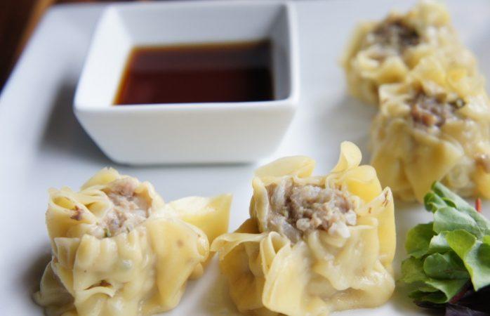 Pork Dumplings at Kaydara Noodle Bar / Step Out Buffalo