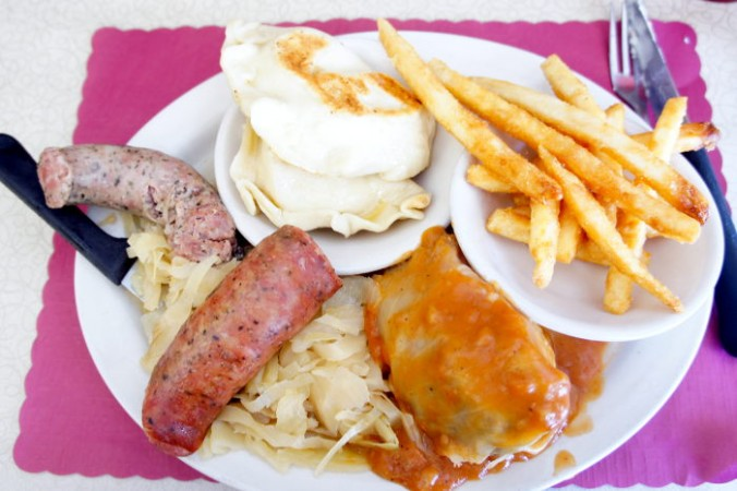 Polish Platter at Polish Villa