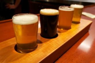 craft beer tasting at the roycroft inn with aurora brew works