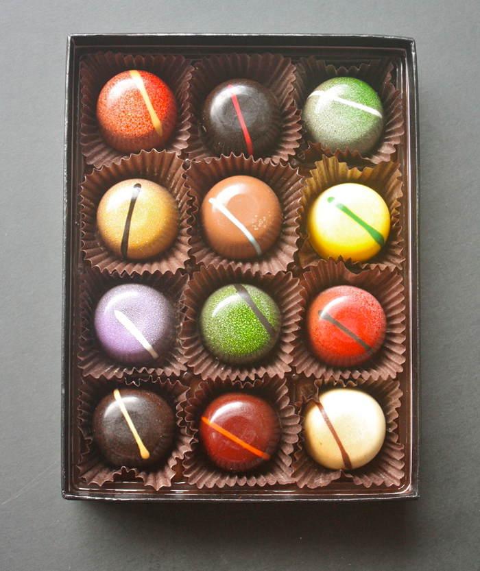 Blue Table Chocolates
