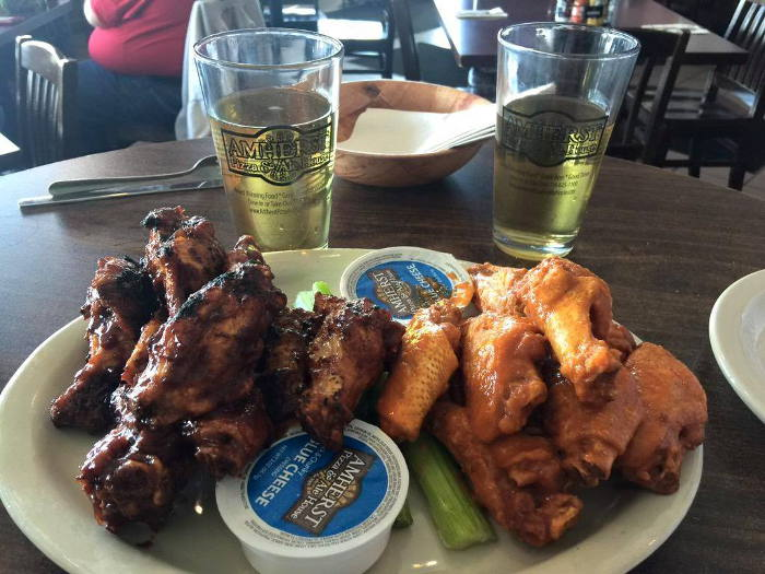 Amherst Ale House Wings, Best WIngs in WNY