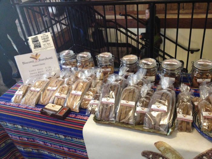 Things to do in Buffalo - Horsefeathers Market Biscotti