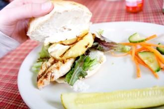 Jerk Chicken Sandwich from Betty's