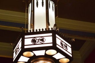 North Park Theater Chandeliers