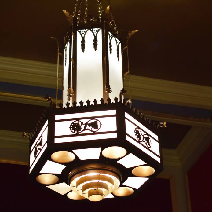 Story Behind North Park Theater Chandeliers