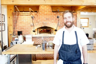Chef Brad Rowell at Elm Street Bakery