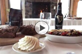 Irish meal of Shepard's Pie & Irish Coffee