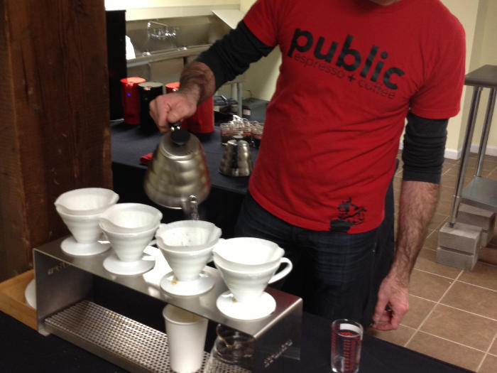 Things to do in Buffalo - Horsefeathers Market coffee