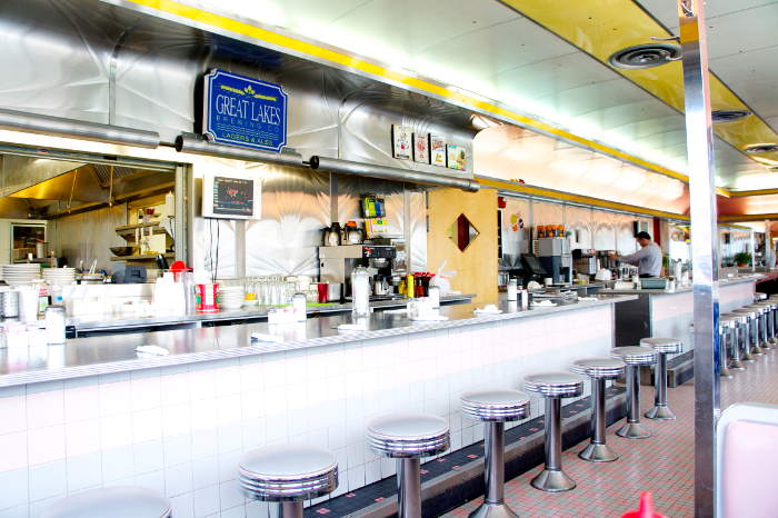 lake effect diner counter | Step Out Buffalo