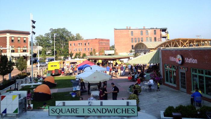 Larkin Square Food Truck Tuesday