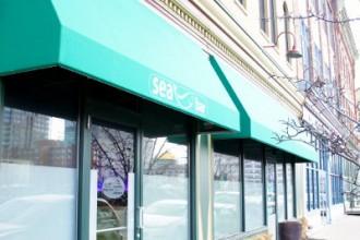 Front of Seabar Restaurant