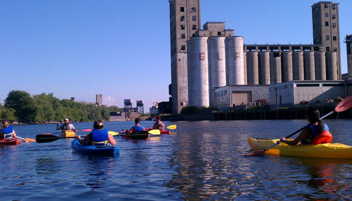 Buffalo Harbor Kayak Tours