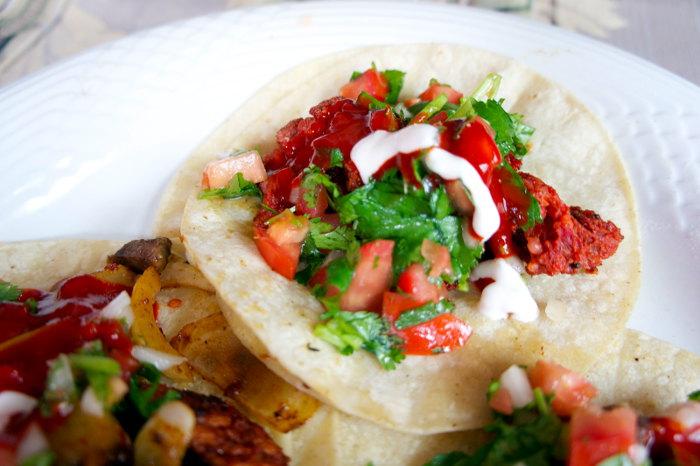 Chorizo Taco from Valle of Mexico, Step Out Buffalo, Buffalo NY