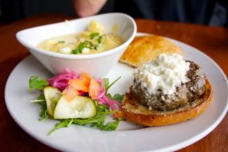 Winfield's Pub Lamb Burger