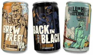 21st Amendment Beer Cans