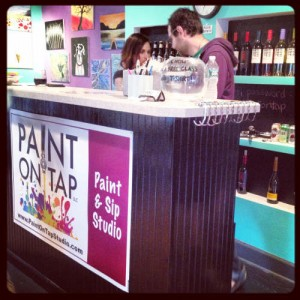 Paint on Tap Class Buffalo