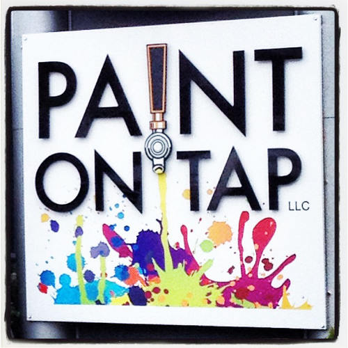 Paint, Drink and be Merry at Paint on Tap