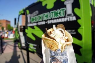 Greek on the Street Food Truck Gyro