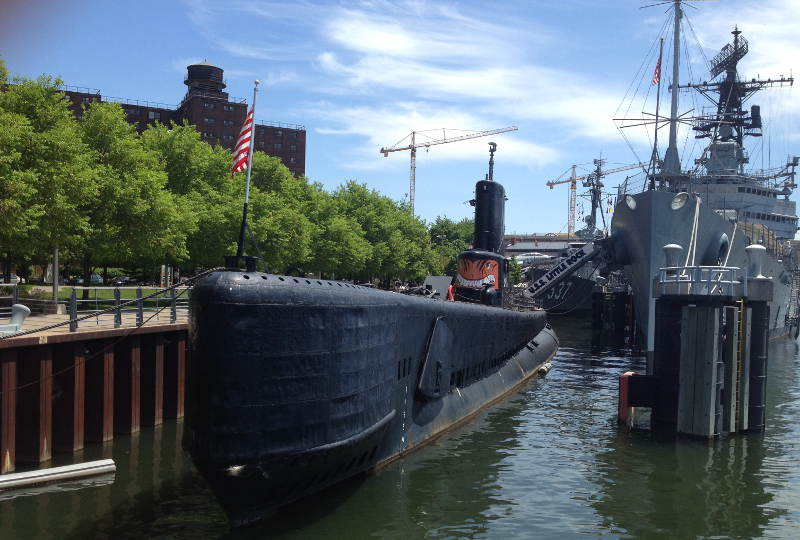 Exploring Buffalo's Naval and Military Park