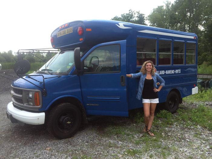 Blue Balls Bus