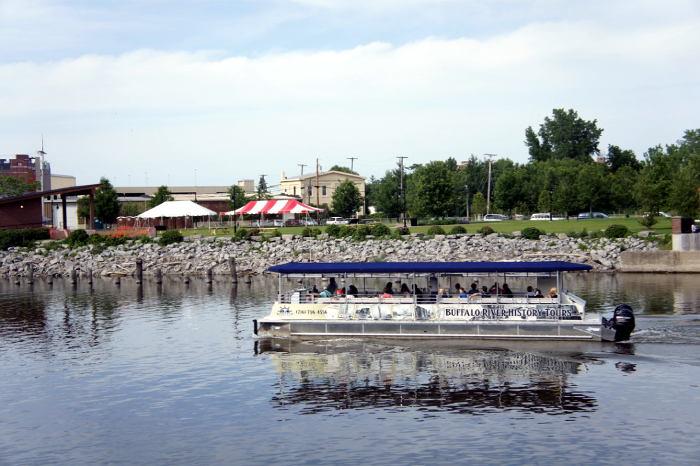 Buffalo River History Tours, 7 Ways to Experience Silo City, Silo City, Buffalo NY, Step Out Buffalo