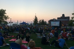 Canalside Outdoor Movie