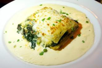 Veggie Lasagna at Mullberry