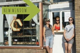 BreadHive's new window