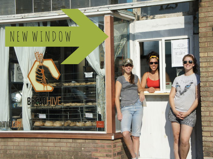 BreadHive's new window