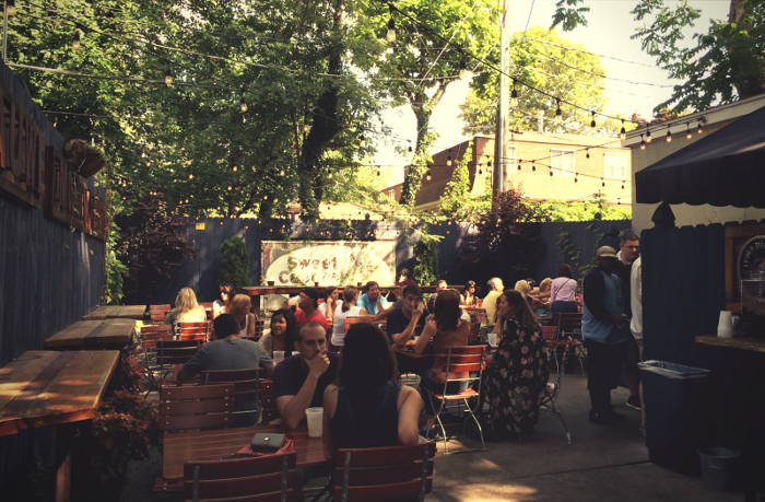Blue Monk's Beer Garden / Step Out Buffalo