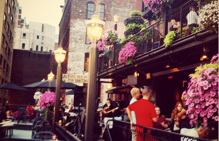 Pearl Street Grill Patio