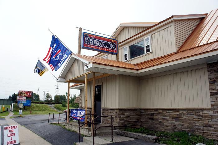 The Press Box, Buffalo NY, Lackawanna NY, Step Out Buffalo