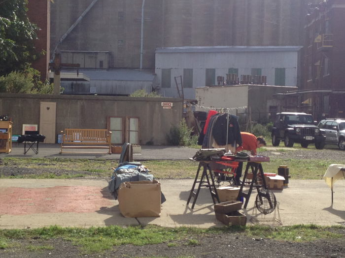 Silo Fleas, Silo City, Ways to Experience Silo City, Buffalo NY, Step Out Buffalo, Flea Market
