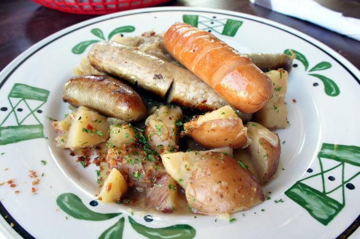 Ulrich's Tavern Sausage Plate