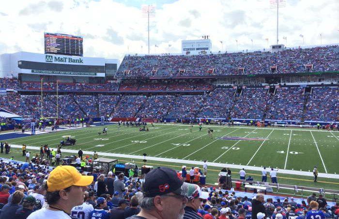 Buffalo Bills, Football, Step Out Buffalo