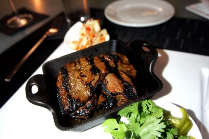 Korean Kalbi Beef Steamed Bun