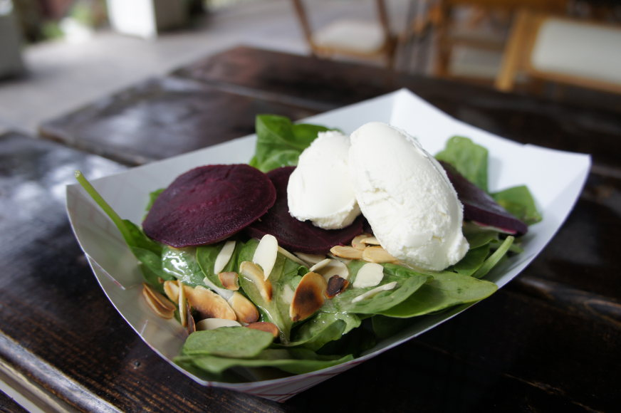 Goat Cheese & Beet Salad